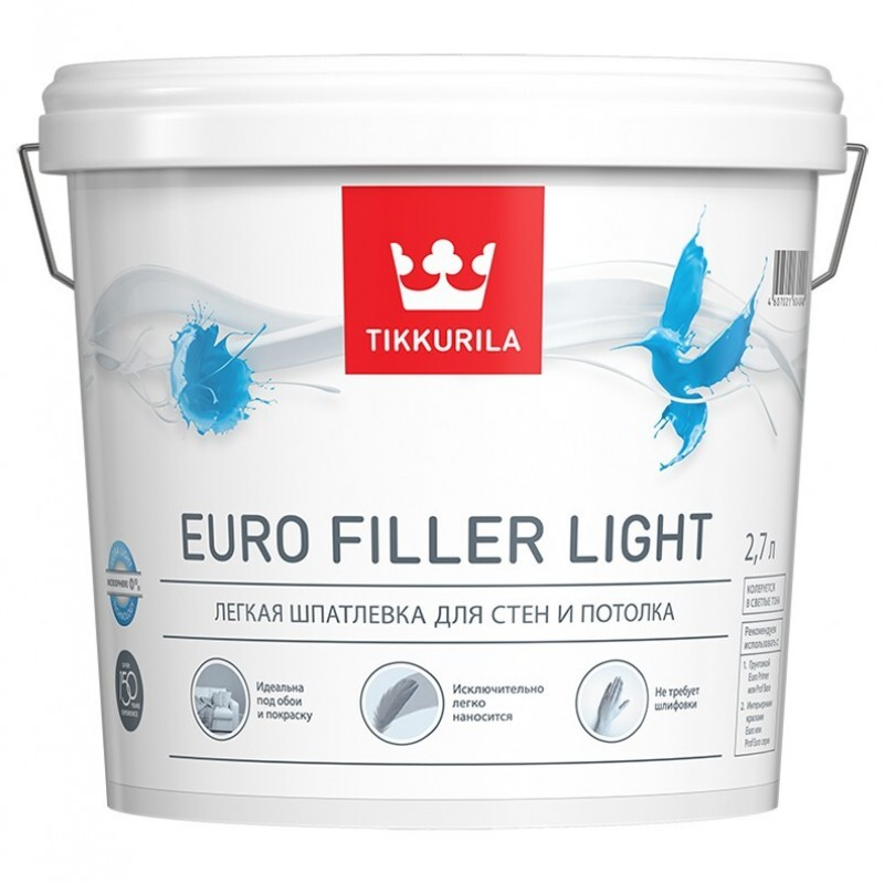 картинка Tikkurila Euro Filler light
